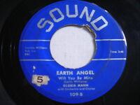 Gloria Mann Earth Angel Will You be Mine 1955 45rpm
