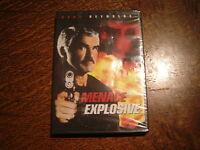 dvd menace explosive avec burt renolds