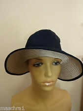 60 he * Elegant Ladies Hat * Grand Duchess * Blue