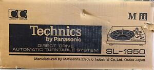 Technice SL-1950 New Old Stock Record Player Turntable Complete NICE!!