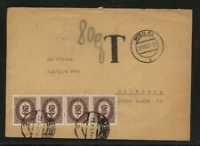 Austria    nice  postage due  cover   local use   1947             MS0210