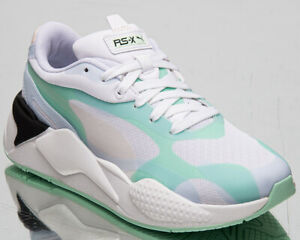 Puma RS-X3 Plas_Tech Women's Mist Green Athletic Casual Lifestyle Sneakers Shoes