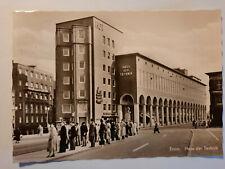 alte Foto Ansichtskarte Essen Haus der Technik 1957 gelaufen