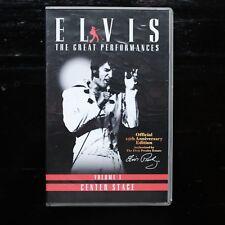 ELVIS PRESLEY - ELVIS VOLUME 1 CENTER STAGE - VHS