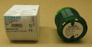 1 NIB SIEMENS 8WD4420-1BC FLASHING STACK LIGHT 24V GREEN 24 VOLT (3 AVAILABLE)