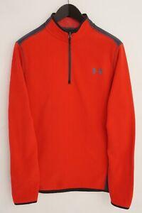 Men Under Armour Thermal Jacket Coldgear Sports Activewear Top M XNA954