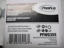 ProFlo Waste & Overflow PVC Lift & Turn Kit PFW0355