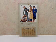1915 Olsen & Veerhusen Company Hart Shaffner & Marx Clothes Advertising Calendar