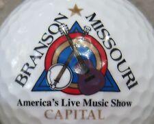(1) Branson Missouri Logo Golf Ball
