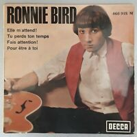 "Ronnie Bird "" Elle m'attend ! +3 "" rare EP Decca 460.918 M"