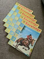 Knowledge Magazine: Bundle of 5: Issues 22 to 26 - 1961