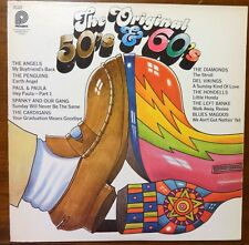 """The Original 50's & 60's""  has 10 great chart topping HITS - Original Vinyl LP"