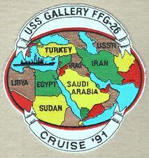 """USN Navy Patch:  Ship - USS Gallery FFG 26 - 5"""""""