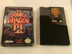 Double Dragon III / 3 The Sacred Stones Nintendo Entertainment System In Box