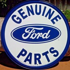 Ford Motor Genuine Parts Metal Tin Ad Sign Garage Auto Shop Wall Decor Picture