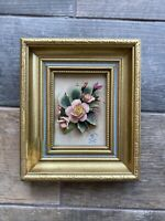 Gold Colour Gilt Style Deep Chunky Picture Frame Wallhanging Capodimonte Vintage