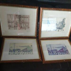Terry Gorman Signed Prints / Sheffield / 4 x prints