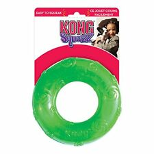 KONG Squeezz Ring Dog Toy Large Colors Vary