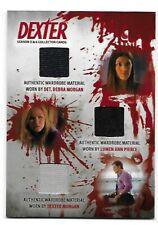 Dexter Seasons 5 & 6 Autograph, Costume Card, Prop, Mini-Master Choose from list