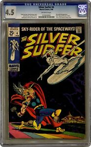 Silver Surfer #4 CGC 4.5 1969 1210243001