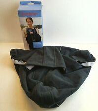 Baby Bjorn Baby Carrier Cover Black Cosy Wind/Rain Fleece Excellent Condition