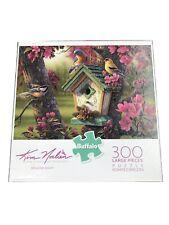 Springtime Beauty Kim Norlien 300 Large pc Jigsaw Puzzle Buffalo Games Blue Bird