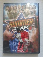WWE: Summerslam 2016 (DVD, 2016, 2-Disc Set) NEW SEALED
