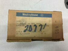 NEW IN BOX WESTINGHOUSE 240VDC COIL 3POLE 300VDC CONTROL RELAY BFD21T