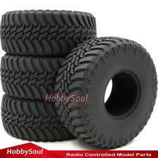 "4pcs 1/10 RC 2.2 Crawler Tires Soft 130mm Tyres Fit RC 4wd Axial RPM 2.2"" Wheels"
