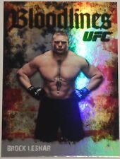 Brock Lesnar UFC 2009 Topps Bloodlines Card #BL-23 200 100 87 91 116 121 141 81