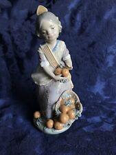 Lladro Daisa Spanish Porcelain Figurine Miss Valencia 1422