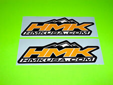 HMK USA .COM ATV SNOWMOBILE SLED SKIDOO POLARIS ARTIC CAT YELLOW STICKERS DECALS