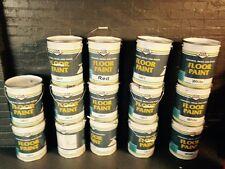 Polyurethane Industrial Garage Floor Paint red 20ltrs tel jason on 07921517559