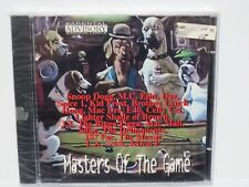 MASTERS OF THE GAME ~ RAP COMPILATION ~ EXPLICIT ~ NEW SEALED CD