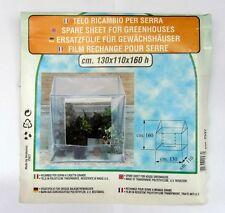 Verdemax telo ricambio per serra a casetta grande 130 x 110 x 160 h cm NUOVO