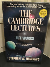 1996 The Cambridge Lectures Life Works book Stephen Hawking 4 cassettes NEW