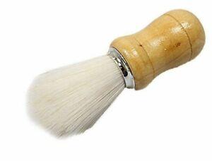 Wooden Base Handle Shaving Brush Bristles Clean Facial Barber Hair Salon