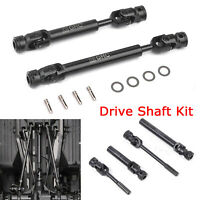 G2 Heavy Duty Steel CVD Drive Shaft Driveshaft Axles For 1/10 RC Car SCX10 RC4WD
