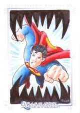 2007 DC LEGACY - CEZAR RAZEK SKETCH of Superman
