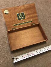 Kings Counsel Cigar Box