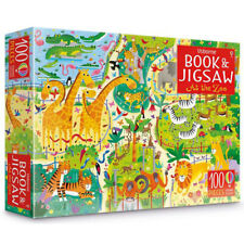 At the zoo puzzle book and jigsaw for Kids