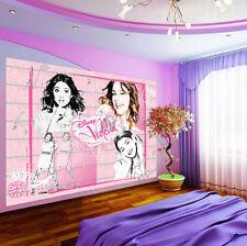 Papiers peints photos papier peint papier peint la fresque poster photo rose disney violetta 1787 p4