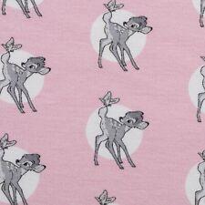 Fat Quarter Disney Bambi und Klopfer zusamen 100/% Baumwolle Quilt Stoff blau
