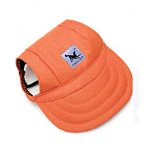 Pet Dog Hat Baseball Hat Summer Canvas Cap For Pet Dog Outdoor Acces S-XL Lot