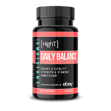 High T Envisions:  Daily Balance for Women - Energy Fitness Estrogen Balance
