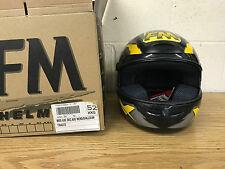 FM Axe Dec. Axe Helmet in Black, Yellow& Anthracite 52/XXS FREE Mainland UK p&p.