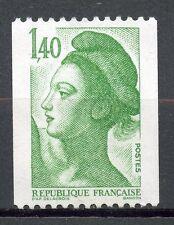STAMP / TIMBRE FRANCE NEUF N° 2191 ** GANDON LIBERTE ROULETTE