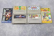 Super Famicom 4 SFC game lots Star Kirby 2 Kirby Ball Zero R Champ Poyu