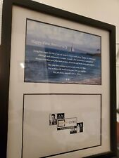"""Happy First Anniversary Poem Photo Frame 4""""x6"""" Poetry Gifts"""