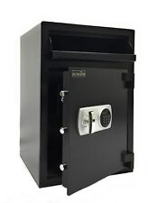 Southeastern Wide Cash Drop Safe Box Depository Safe with Quick Digital Lock